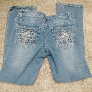 Paisley Sky Jeans - Jeans with pocket detail